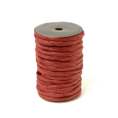 Lint twisted paper 10mm doormeter, 20m, bordeaux