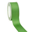 Zijdelint double faced satijn, 10mm breed, 25m lang, Green