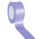 Zijdelint double faced satijn, 10mm breed, 25m lang, Lavendel