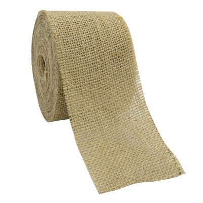 Jute roll, 70mm breed, 8m lang, natuurkleur