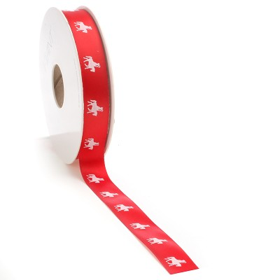 Sint + Amerigo ribbon, 16mm x 25m, rood