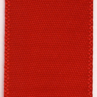 Zijdelint 3mm br / 50m lang / rood