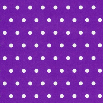 Geschenkpapier 70 cm breed, 150 m lang, purple with white dots