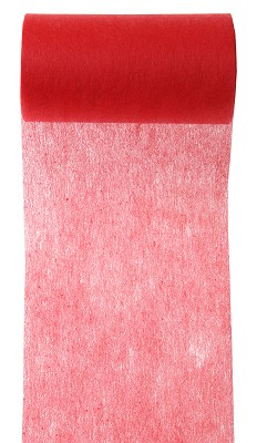 Lint LARGE, 100mm br, 10m lang, rood