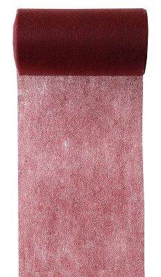 Lint LARGE, 100mm br, 10m lang, bordeaux