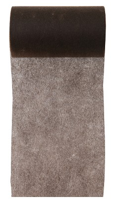 Lint LARGE, 100mm br, 10m lang, chocolade