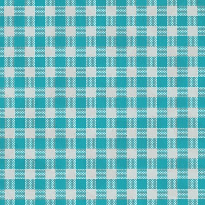 Geschenkpapier 30cm br, 100m lang, gingham turquoise